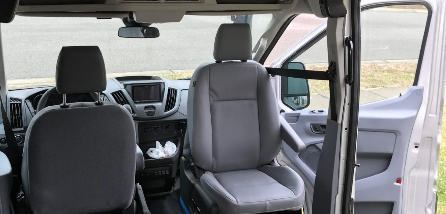 Van Conversion Install Seat Swivel In Ford Transit In 2020 Ford Transit Seating Installation