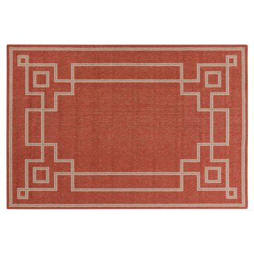 Check out this item at One Kings Lane! Richmond Outdoor Rug, Red