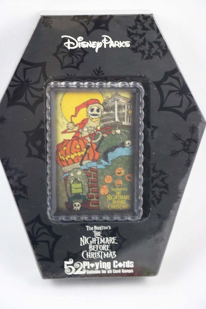 Disneyland Haunted Mansion Nightmare before Christmas Playing Cards ...