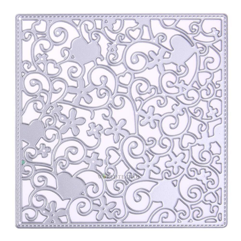 Blätter Design Metall Stanzformen für DIY Scrapbooking Card Paper Album
