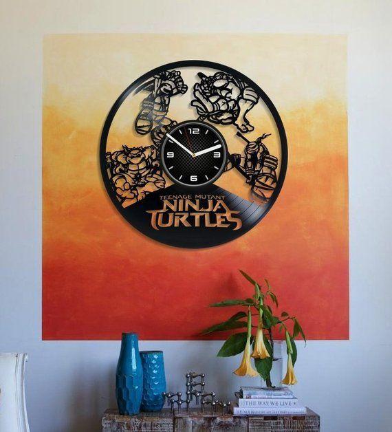Room Wall Art Teenage Mutant Ninja Turtles Cartoon Art