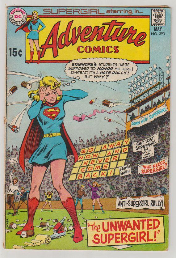 Adventure Comics V1 393 Comic Book. VG/FN. by RubbersuitStudios ...