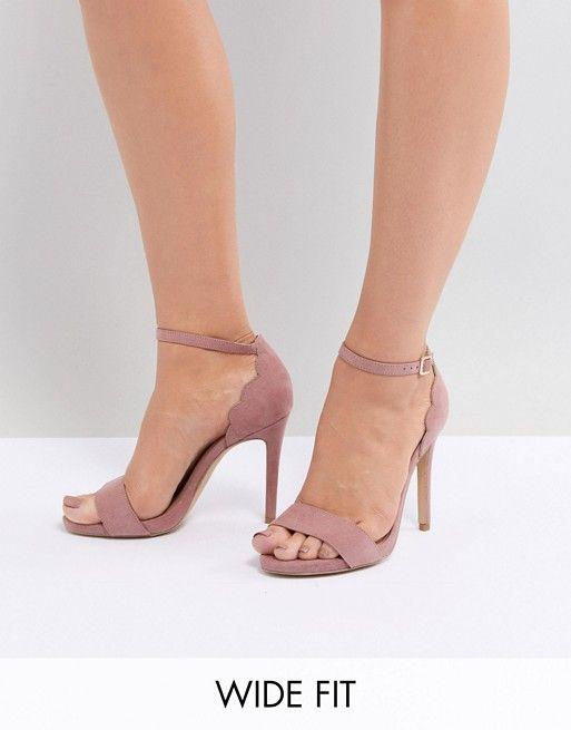 New Look Wide Fit WIDE FIT SENSE - Sandales à talons hauts rose doré 4leIow