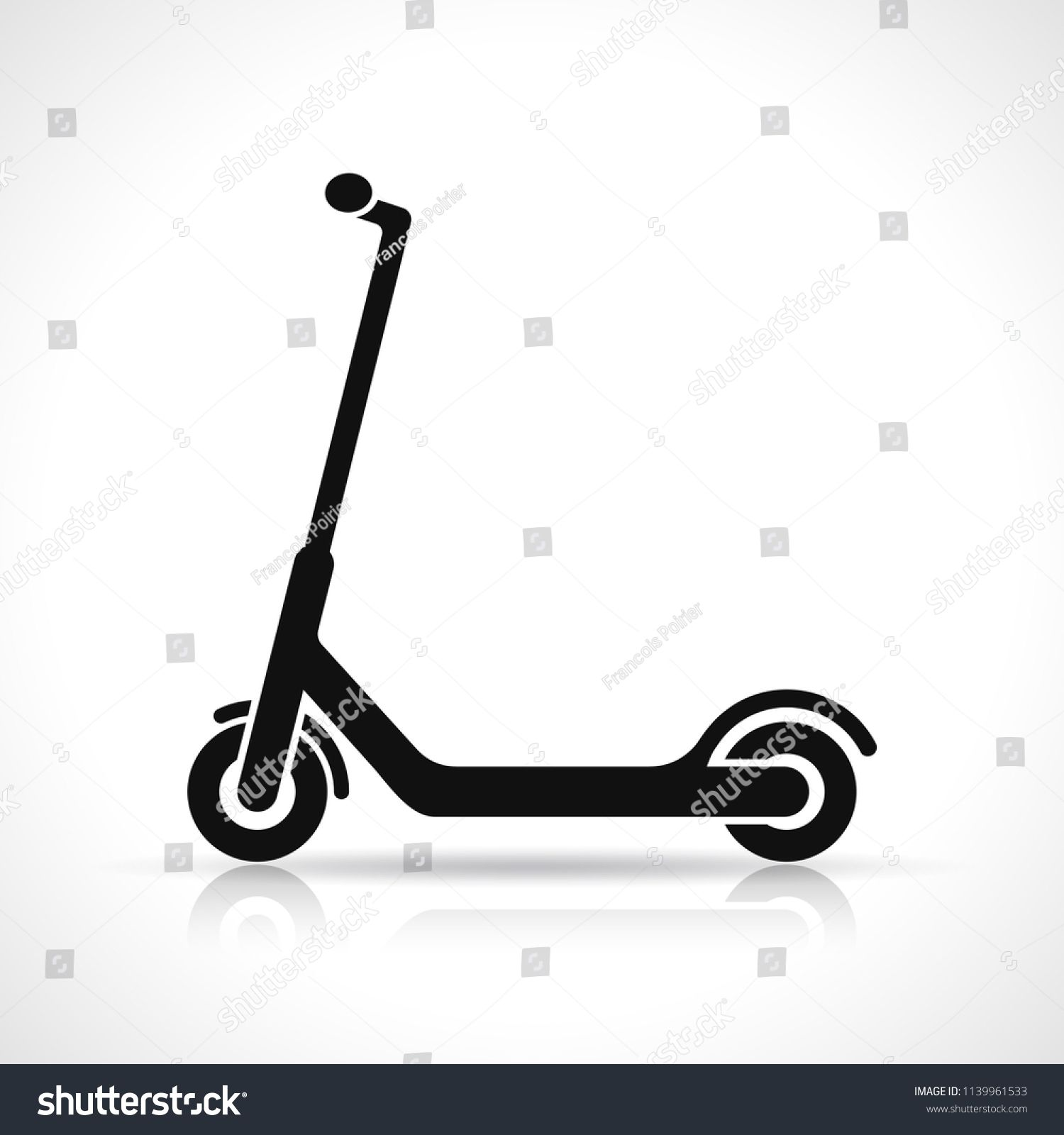vector scooter icon design on white background sponsored affiliate icon scooter vector background icon design white stock image vector background vector scooter icon design on white