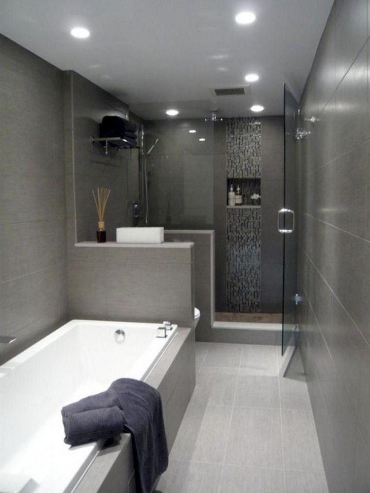 Budak Cinta Blackvelvet Tata Letak Kamar Mandi Ide Kamar Mandi Renovasi Kamar Mandi Kecil Black and gray bathroom decor