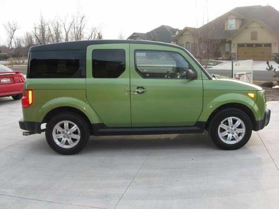 Green honda element vehicles vroom pinterest more for Green honda element