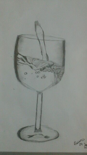 Glass of water or whatever