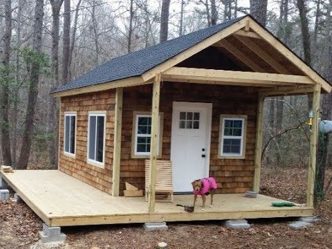 How To Build Your Own Tiny Cabin Tiny House Cabin Building A Cabin Diy Cabin