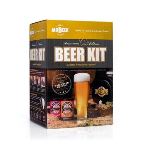 Mr beer home brewing kit premium edition