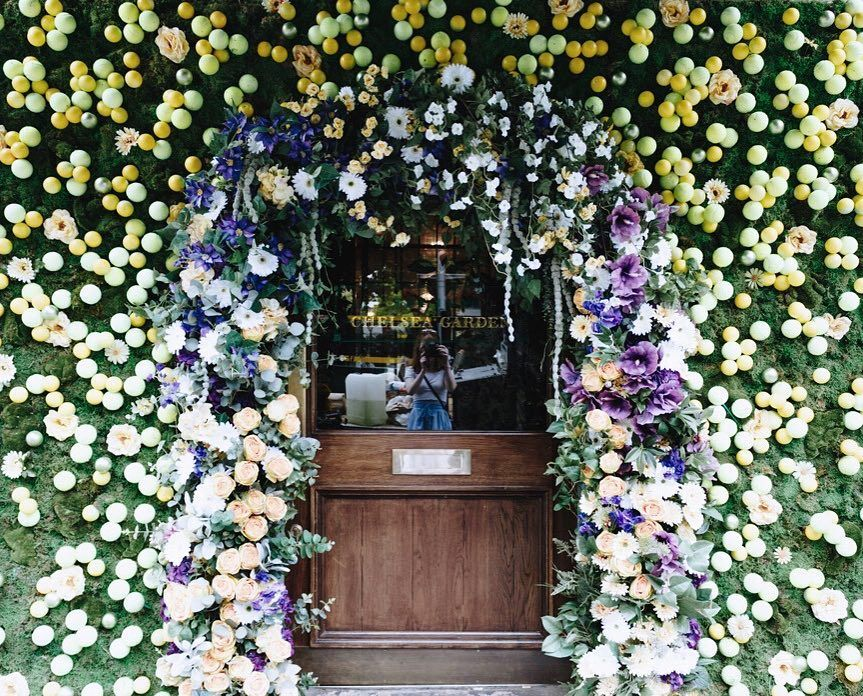 The Ivy Chelsea Garden is feeling the Wimbledon spirit Pop