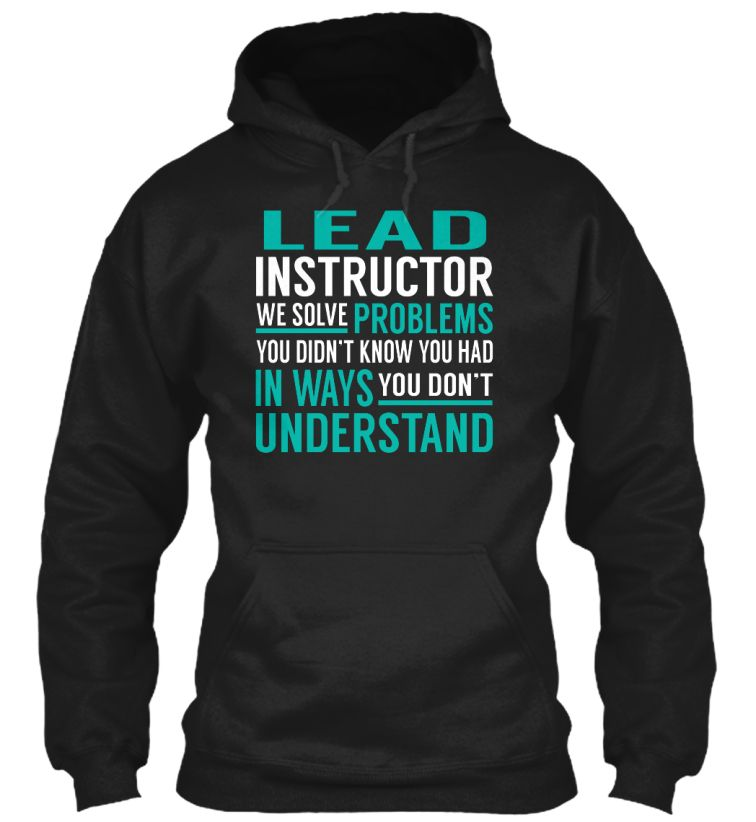 Lead Instructor - Solve Problems