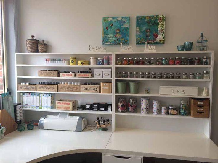 Image Result For Craft Room Office Desk Studio Organization Home Art Studio Organization