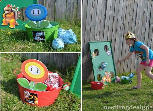 16 Backyard Mario Party Ideas Mario Party Party Super Mario Party