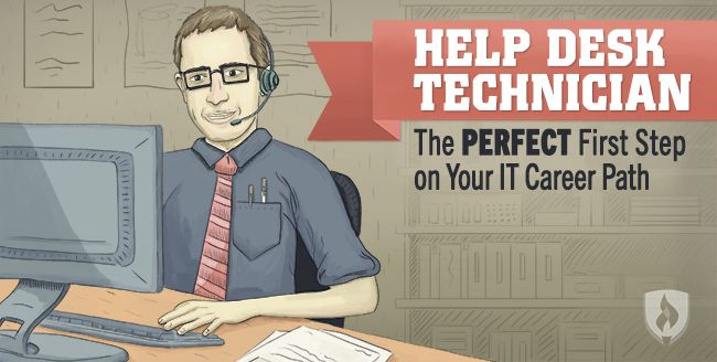 Help Desk Technician The Perfect First Step On Your It Career Path