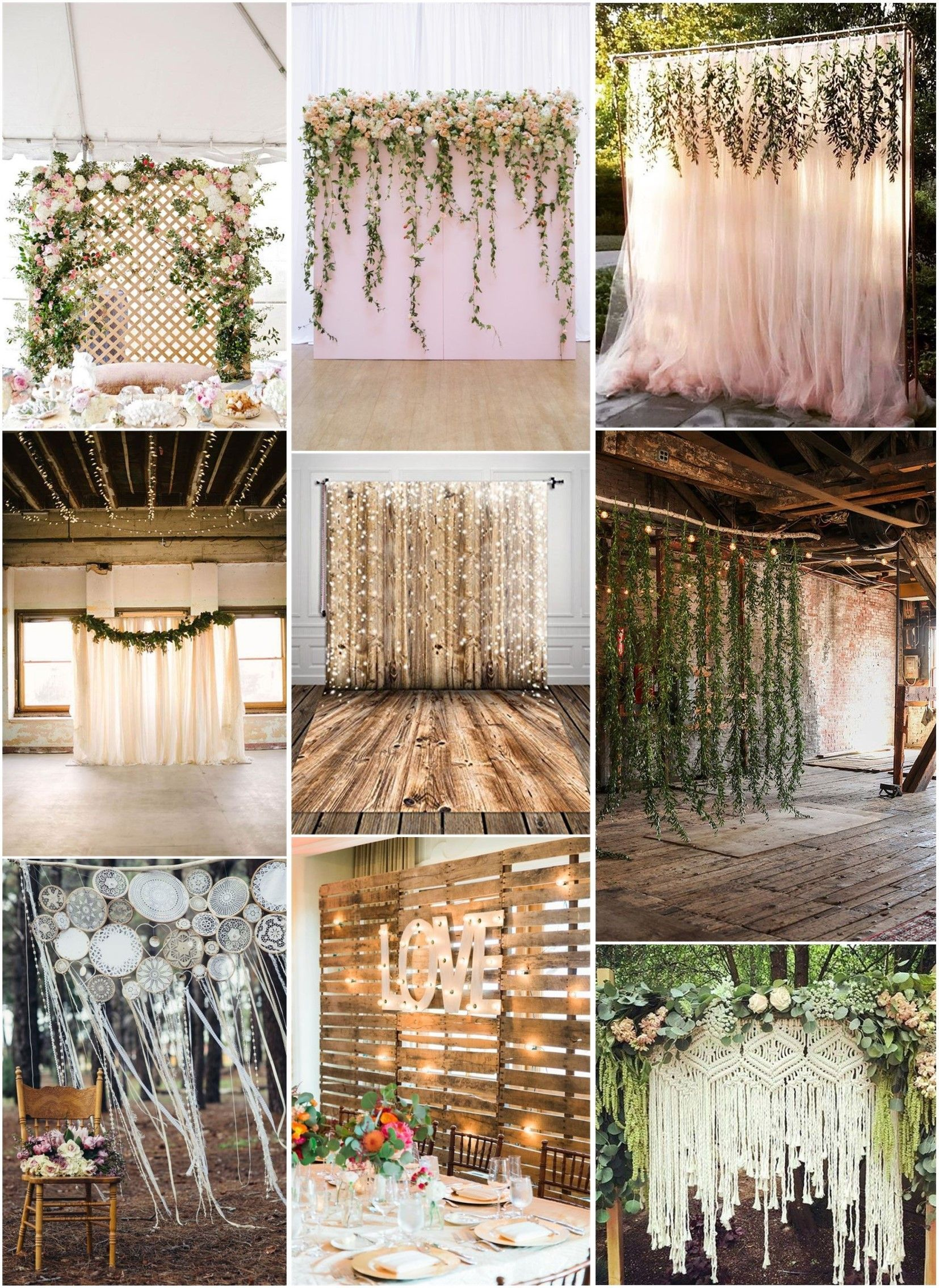 30 Unique And Breathtaking Wedding Backdrop Ideas Weddinginclude Diy Wedding Backdrop Wedding Themes Rustic Bridal Shower Backdrop