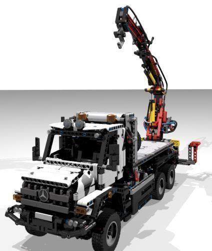lego set 42043 c model legos lego lego moc lego truck. Black Bedroom Furniture Sets. Home Design Ideas