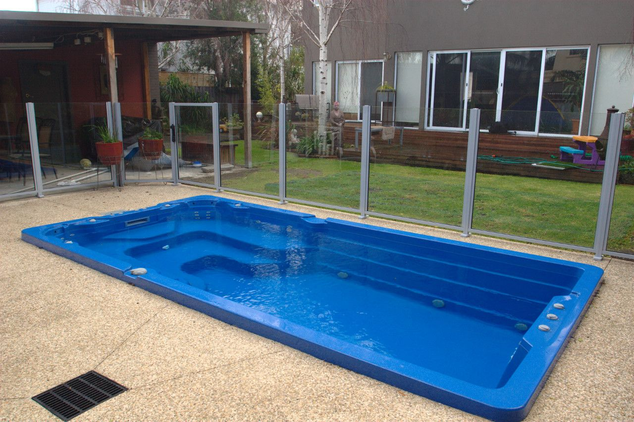 Swiming Pools Swim Spa Telescopic Enclosure With Swim Spa