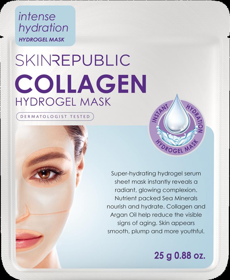 Collagen Hydrogel Face Mask   Skin, Deep wrinkles, Even ...