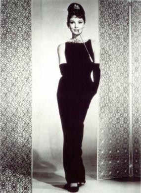 Audrey Hepburn in Breakfast at Tiffany's, pure class