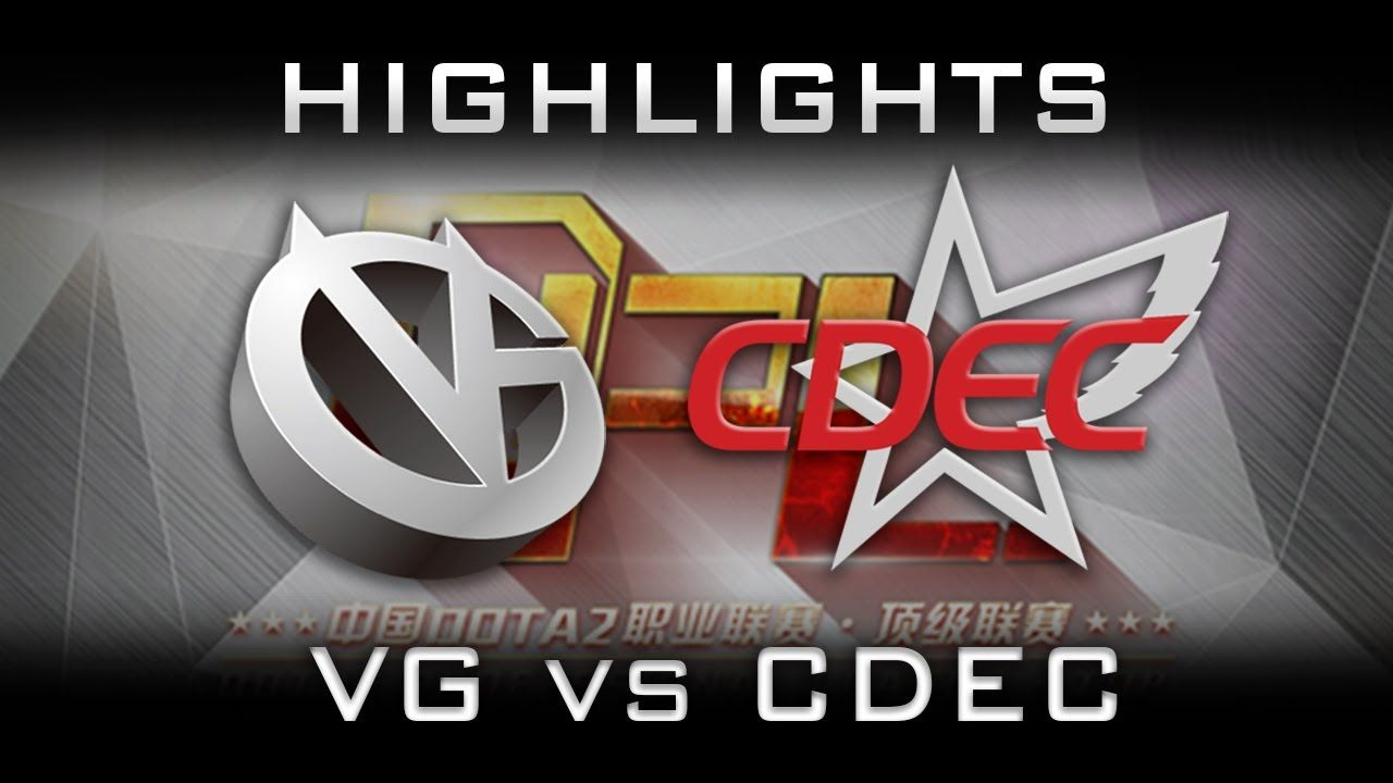 CDEC vs VG DPL 2016 Highlights Dota 2