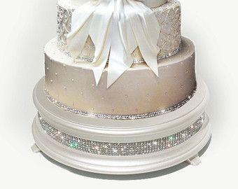 22 Inch White Diamond Wedding Cake Stand Von Weddingfads Auf Etsy
