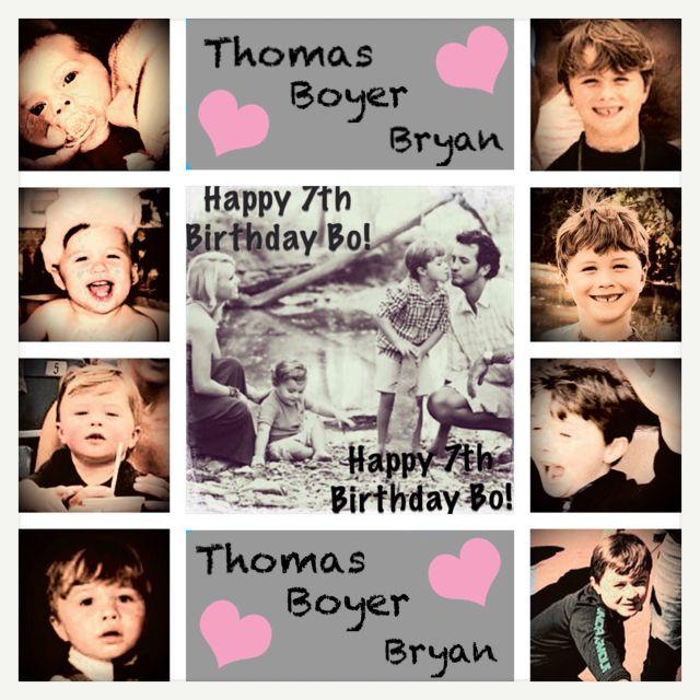 March 18. Happy Birthday BoBo!!! 7 years old...