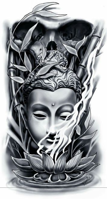 50 Brilliant Buddha Tattoos And Ideas With Meaning #tattoodesigns
