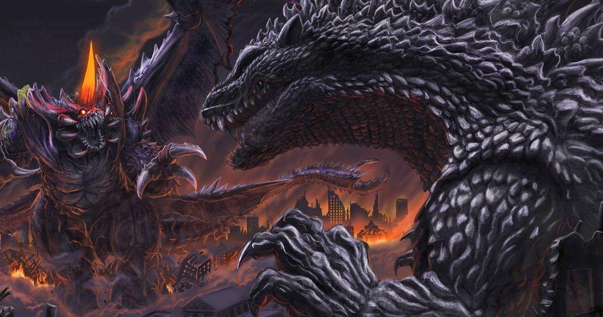 First Look at New 'Godzilla' Anime Movie Godzilla