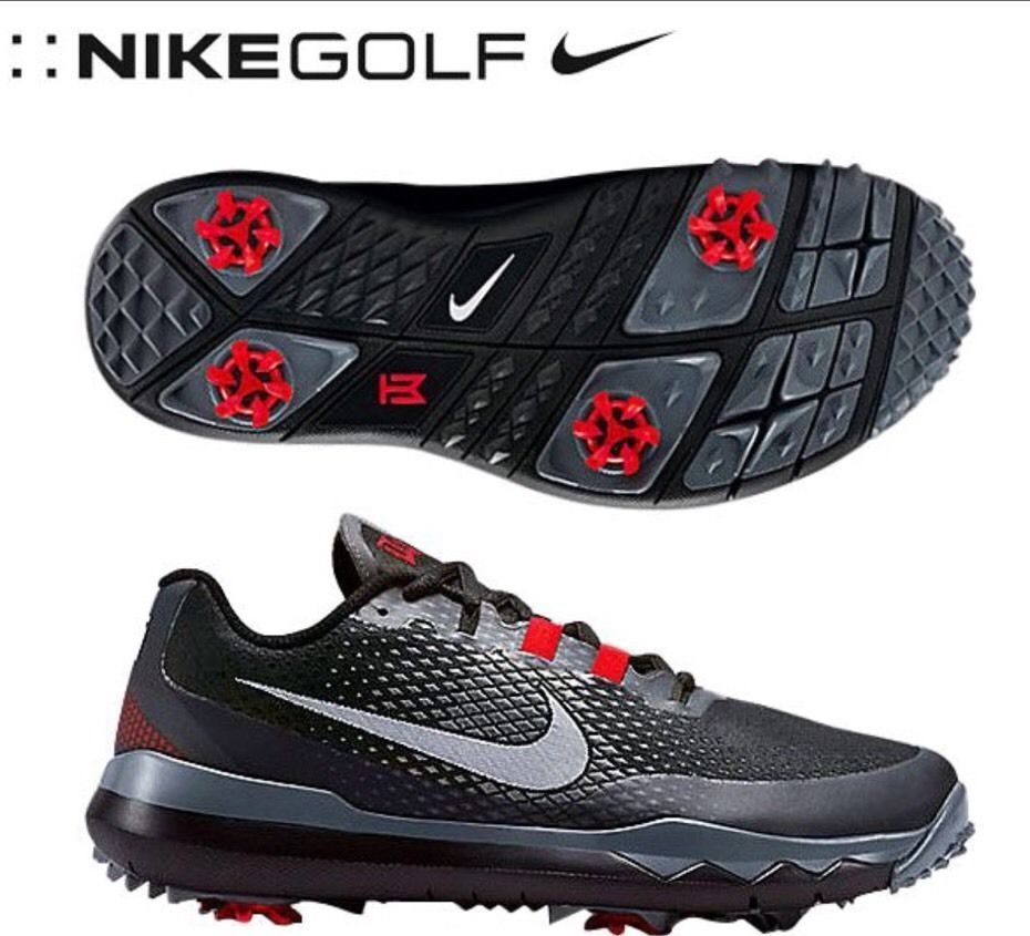 Nike Tiger Woods TW15 Mens Golf Shoes Spikes SIze 8 704884-001  Nike 9a1da53d82