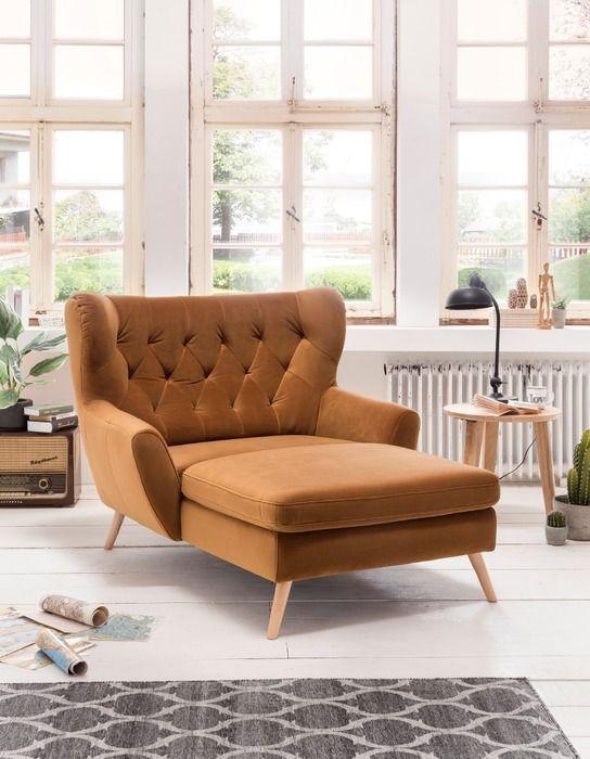 Longseat-Sessel - Voss - Gold | Online kaufen bei Segmüller