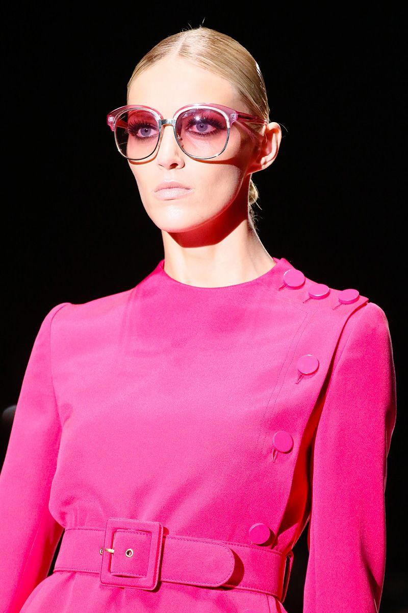 Gucci Black Acrylic Square Frame Womens Sunglasses in ...  |Gucci Sunglasses Women 2013