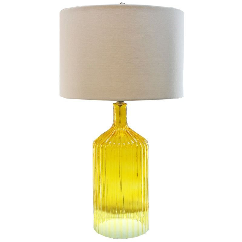Tlc Orted Fluted Gl Lamp