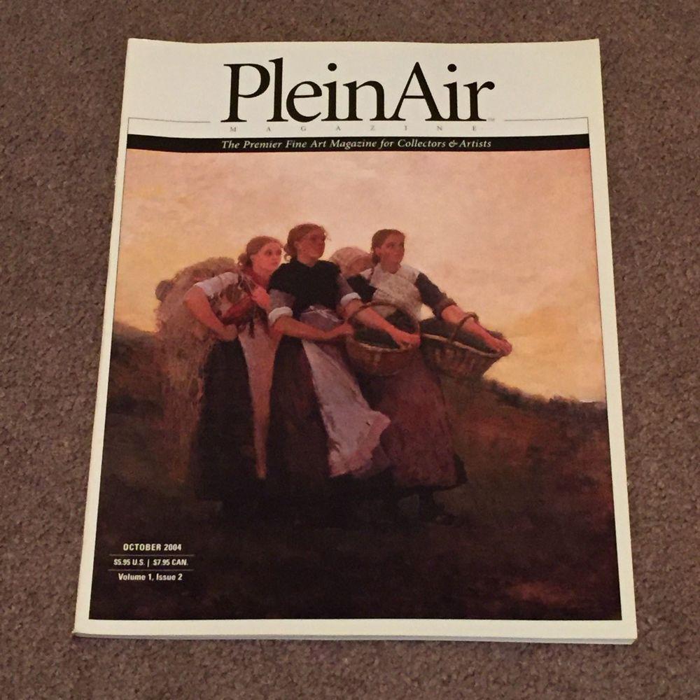 Plein Air Magazine October 2004 Vol. 1, Issue 2