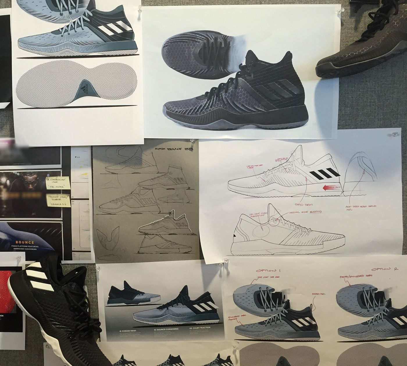 d1dbb39c85cf1 Adidas Mad Bounce on Behance