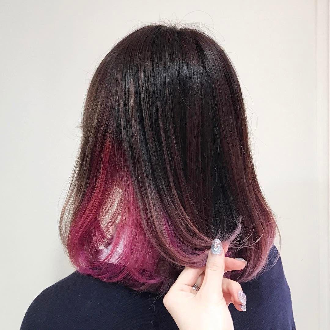312 個讚 3 則留言 Instagram 上的 Naya Katsuragawa 나야 N A Y A Hairpink Hidden Hair Color Pink Hair Short Hair Color