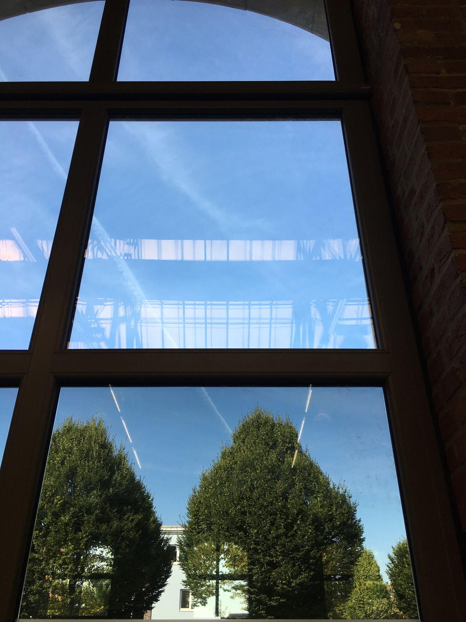 Sonnenschutzfolien transparent Hitzeschutzfolien mit Spiegeleffekt