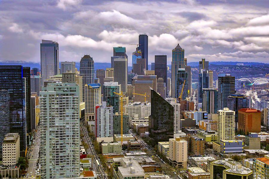 Seattle Skyline By Lorraine Baum Landscape Photography Amazing Photography Skyline