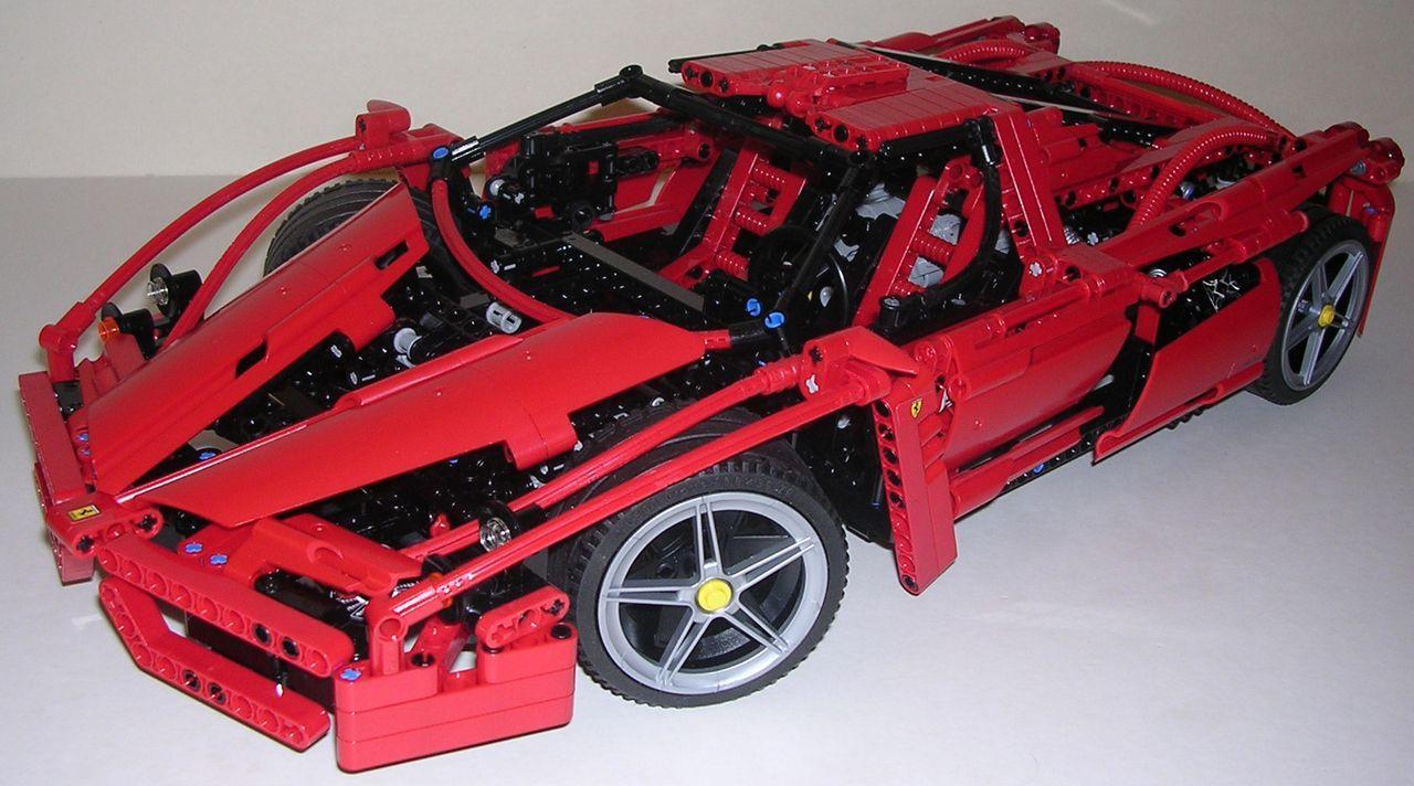 review lego technic 8653 ferrari enzo lego technic pinterest lego et star wars. Black Bedroom Furniture Sets. Home Design Ideas