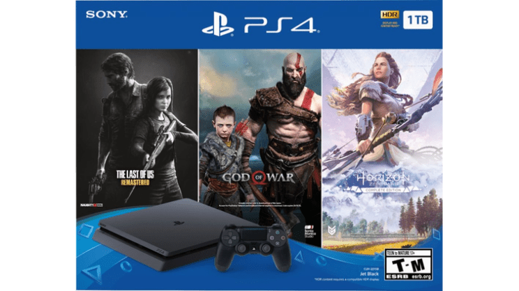 Best Black Friday 2019 Playstation Deals Now Ps4 Pro With Call Of Duty For 299 Psvr For 199 Playstation God Of War Last Of Us Remastered
