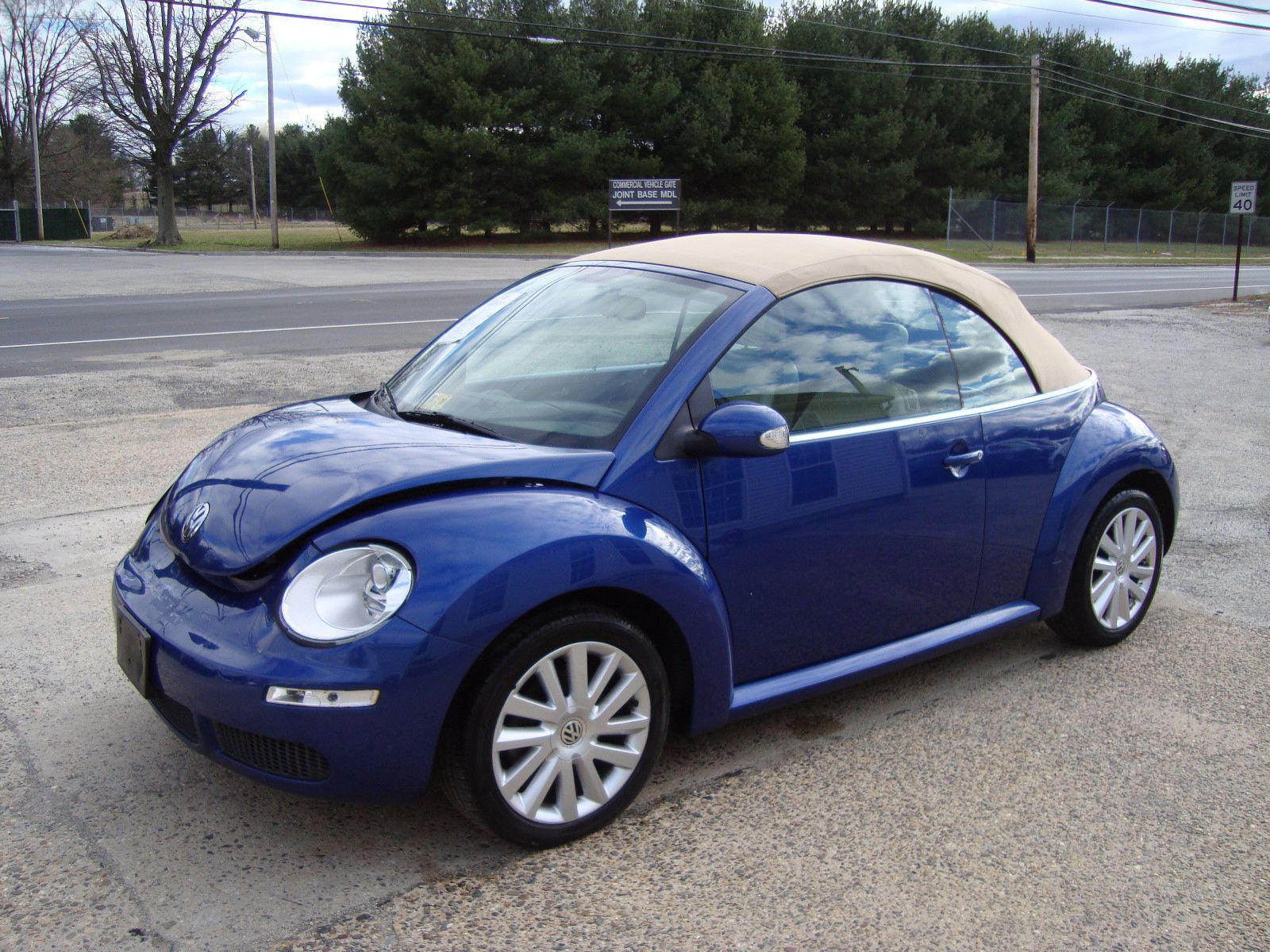 2008 Volkswagen Beetle New Beetle Convertible Salvage Rebuildable