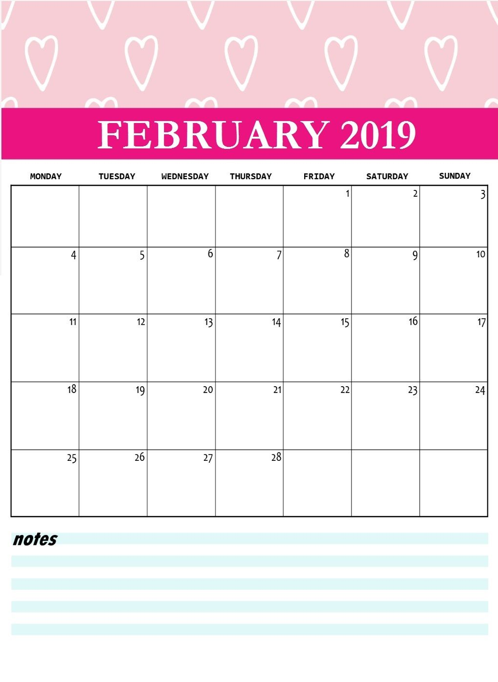 Persnickety image for printable february calander