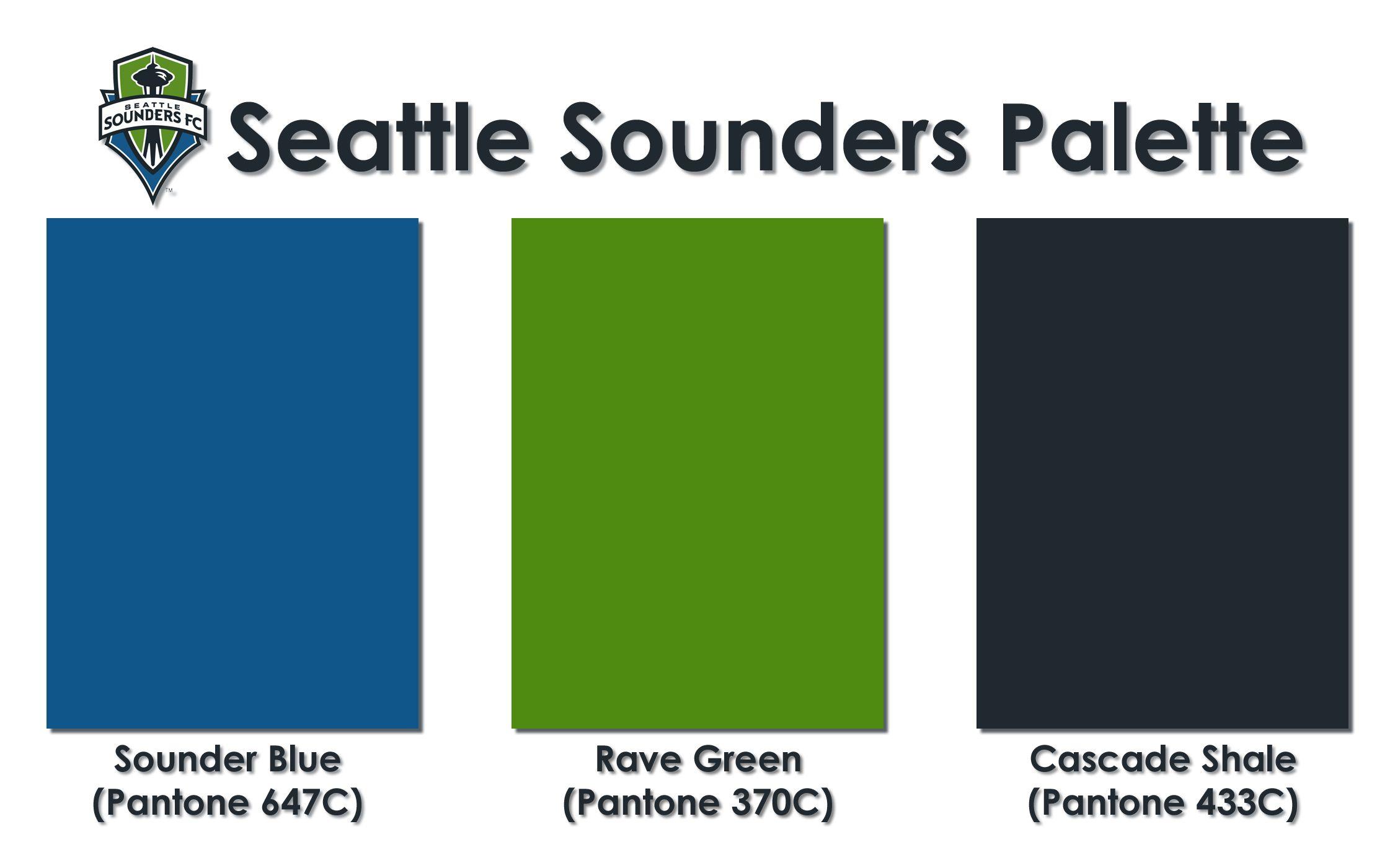 Seattle Sounders Color Palette Crochet In 2019 Seattle