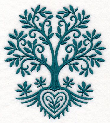 Tree Of Life Design M12368 From Emblibrary Embroidery
