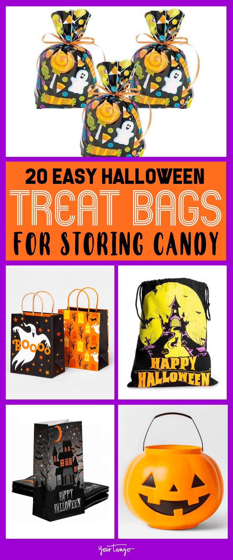 20 Easy Halloween Treat Bag Ideas To Store Candy