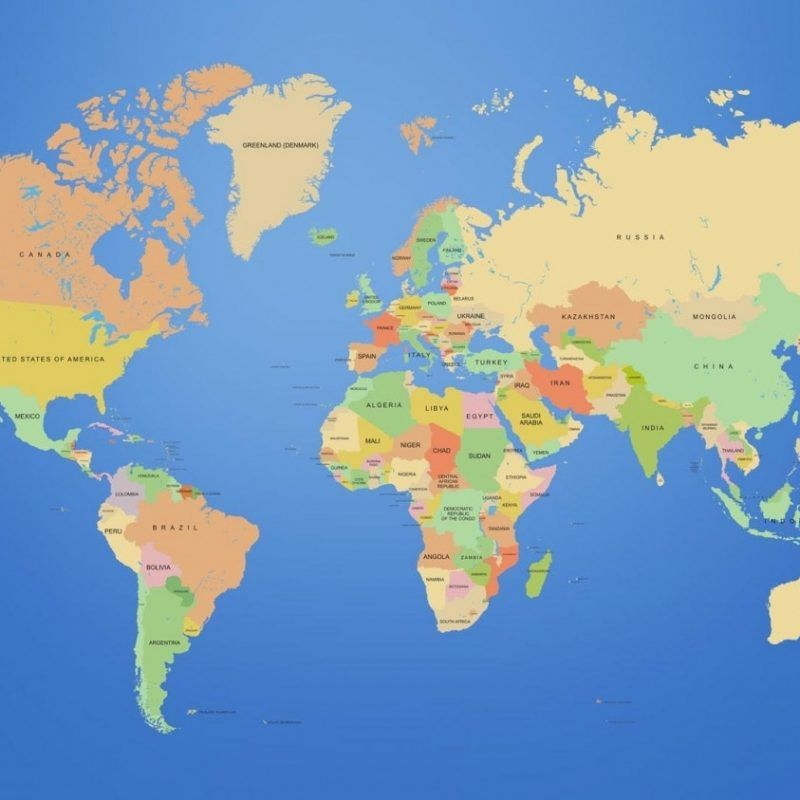 10 Best Hd Map Of The World Full Hd 1920 1080 For Pc Desktop Cool World Map World Map Wallpaper Map Wallpaper