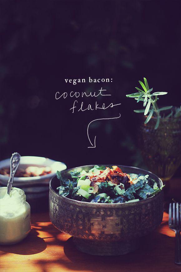 4-Ingredient Healthy Vegan Bacon | Free People Blog #freepeople