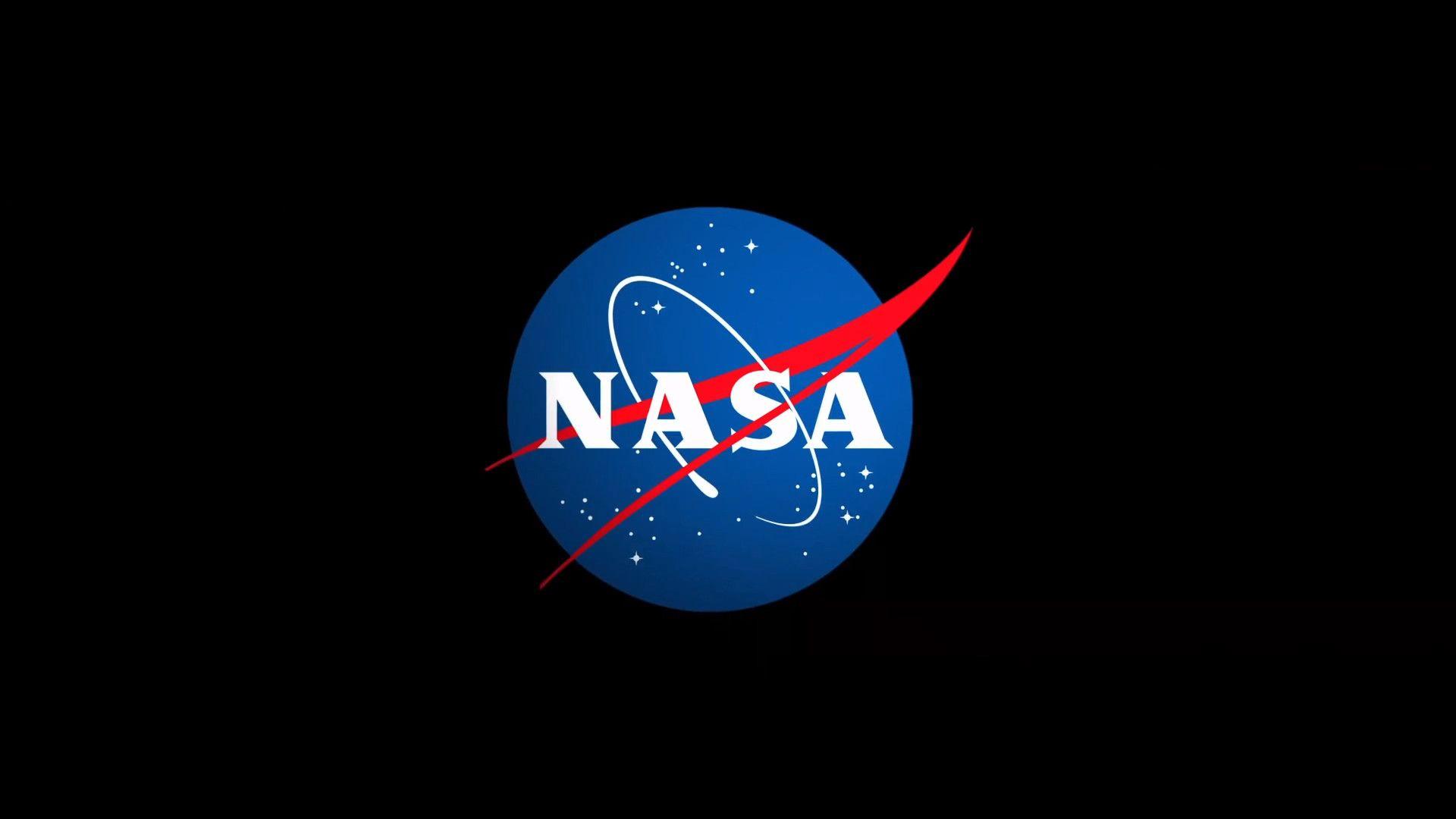 1920x1080 Fond D Ecran Logo Nasa In 2019 Nasa Background