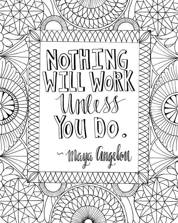 Little Maya Angelou for your Wednesday. 💛 #mayaangelou # ...