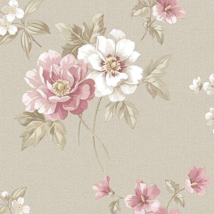 "Wedding Flowers Keighley: Sage Hill 33' X 20.5"" Wallpaper Roll"
