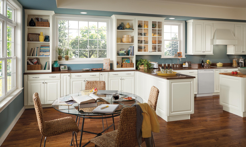 Charlottesville | American Woodmark | Semi custom kitchen ...